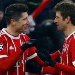 Bayer Leverkusen – Bayern Monachium 2:6 (bramki Lewandowskiego)